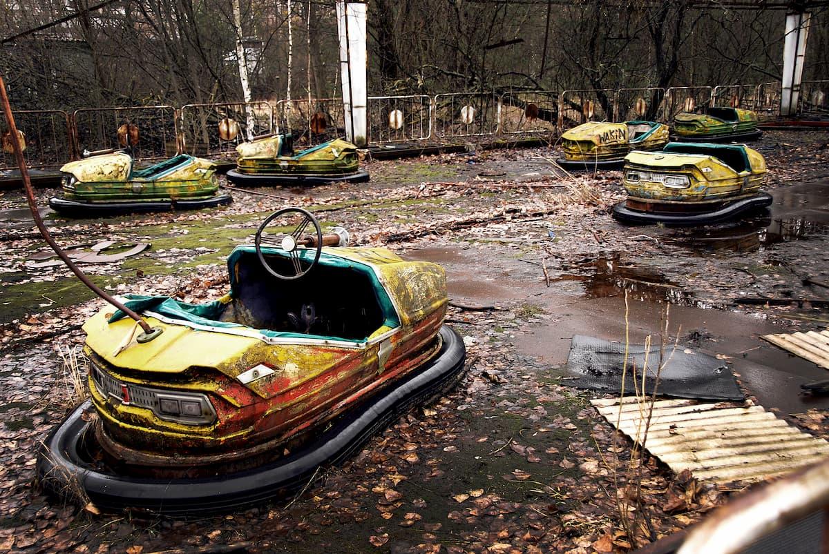 Abandoned radioactive fairground