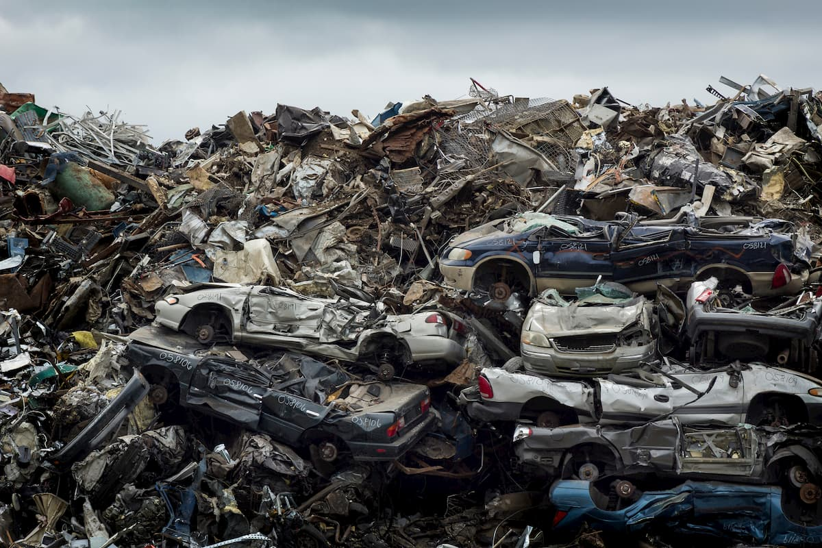 What is the Scrap Value of Vehicles?